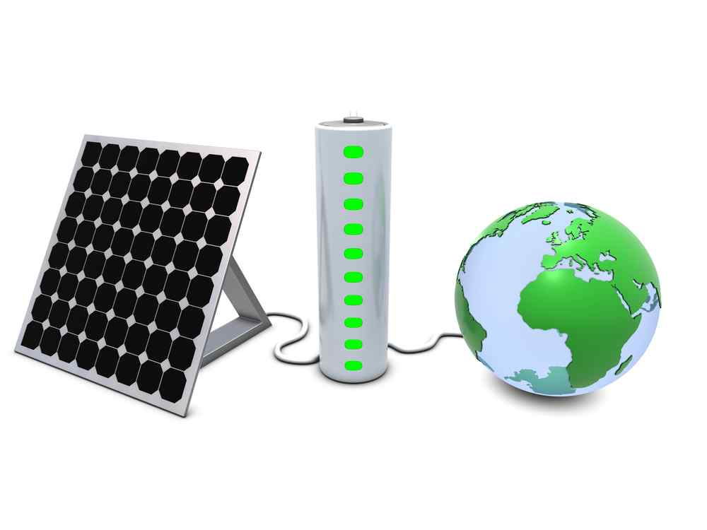 global-solar-panel-and-battery